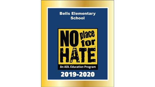 We are a Designated No Place For Hate Schoollace